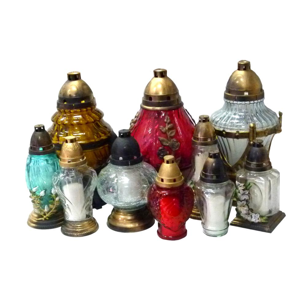 Lampioni stakleni i keramički