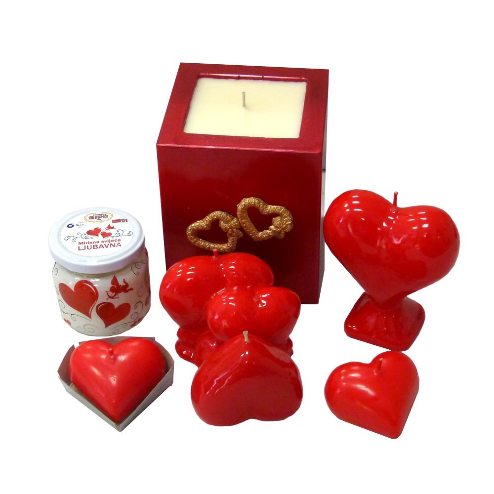 Svijeće za Valentinovo