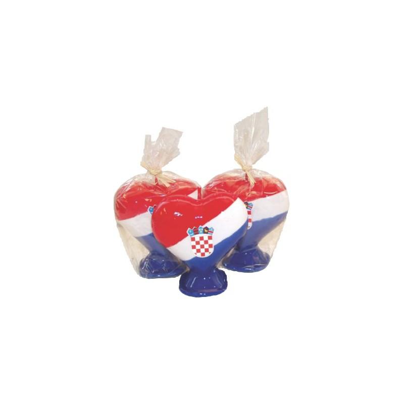 Svijeća srce veće hrvatsko