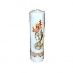 Svijeća sa slikom srednja50*210-uskrs