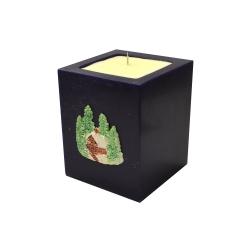 Svijeća kocka Božić︱mirisno punjenje