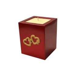 Svijeća kocka Valentinovo︱mirisno punjenje
