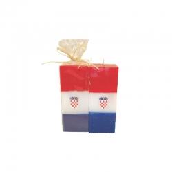 Svijeća kocka srednja Hrvatska