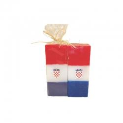 Svijeća kocka velika Hrvatska