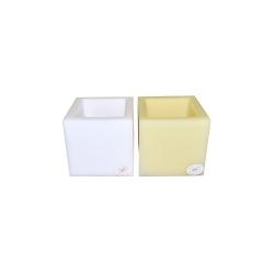 Parafinska posuda kocka s lampicom︱150 x 150 x 150 mm