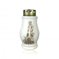 Lampion suza keramička s ukrasom