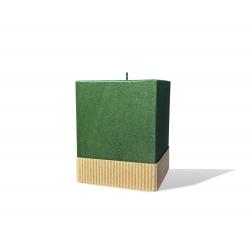 Svijeća kocka 95 x 95 x 125 natur