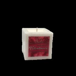 Svijeća kocka mala Valentinovo︱mirisno punjenje