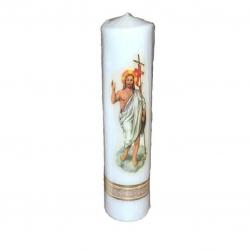 Svijeća sa slikom velika 60*170-uskrs